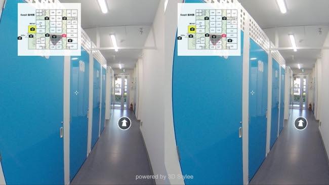 トランクルームにおける360度VR実証事業開始、株式会社パルマ(東証マザーズ:3461)と共にトランクルームの360度VR化を検証